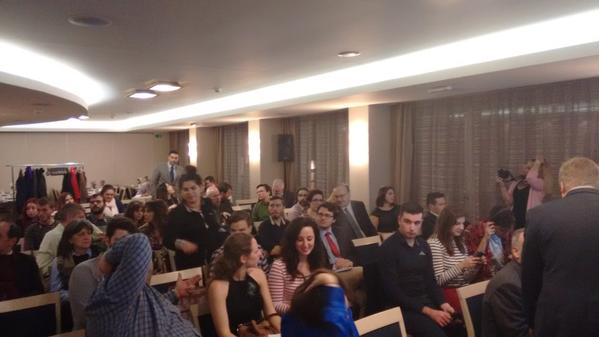 The Audience at the event at the Amalia Hotel