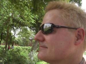 The Taj in my sunglasses
