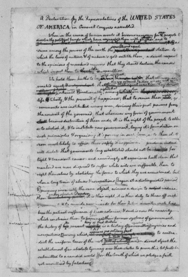 Page 1 of Original Rought Draught of Dec of Ind.jpg