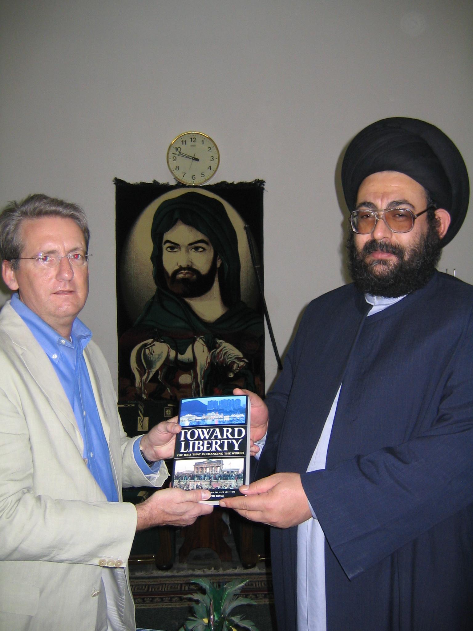 Ron St John and Farqad al Qazwini.jpg